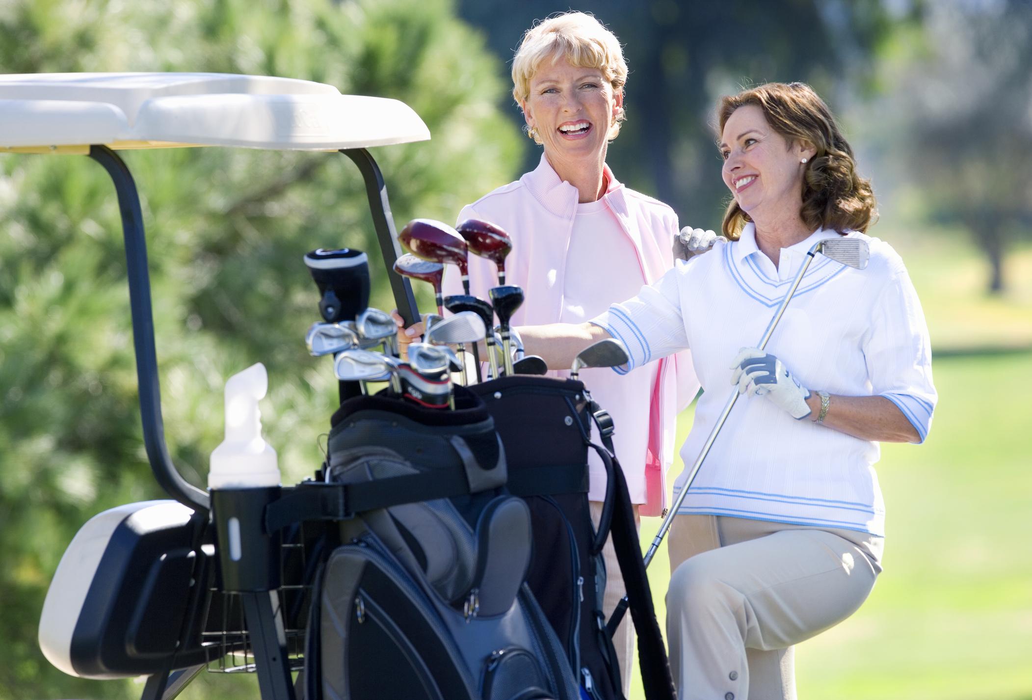 Gallagher Dentistry Dental Implants - golfing ladies