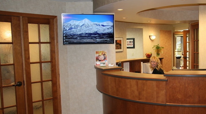 Front Desk Gallagher Dentistry