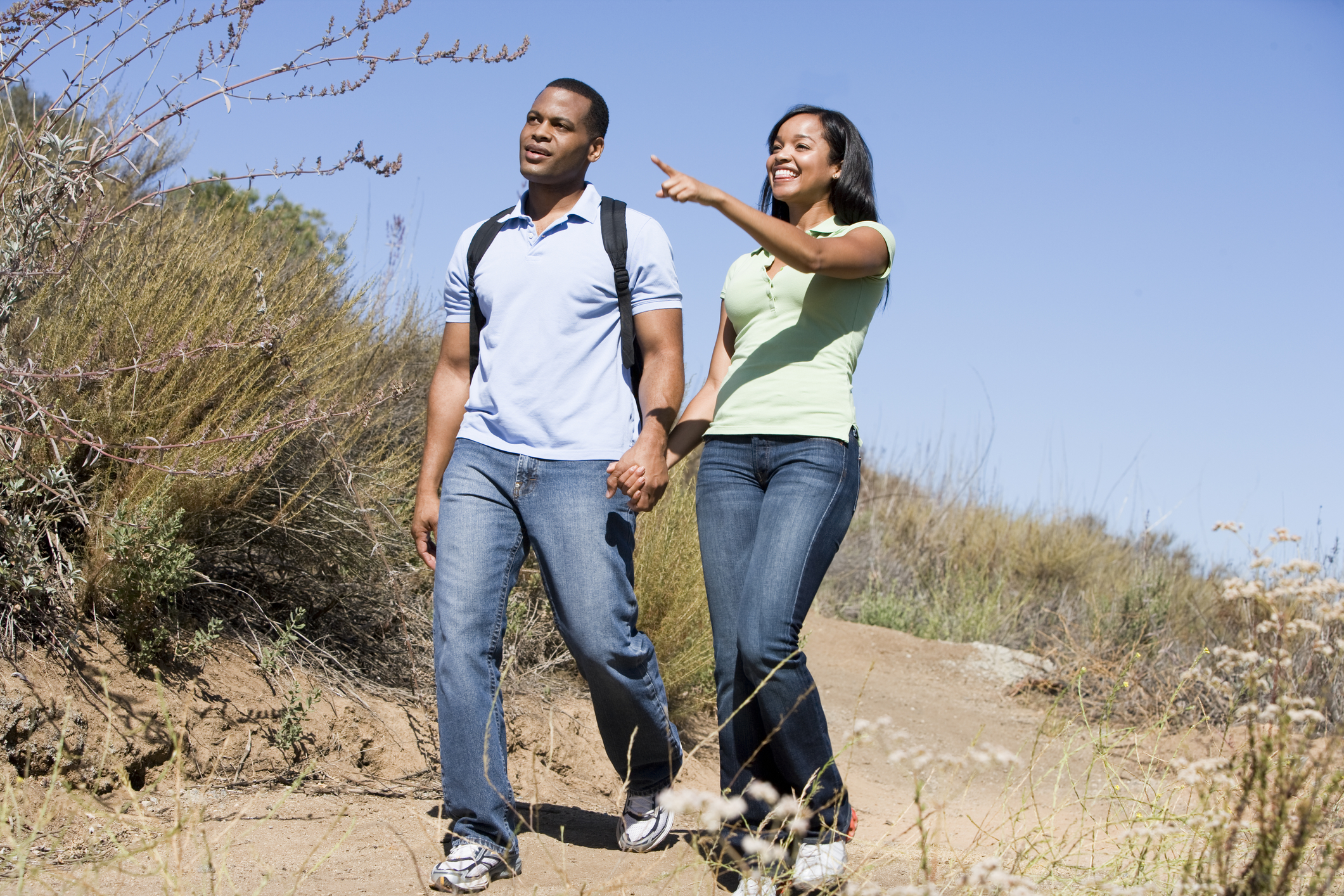 Couple Hike Gallagher Cosmetic Dentistry