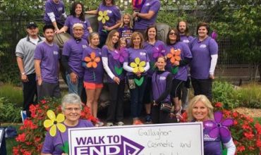 Gallagher Team Walks to End Alzheimer's
