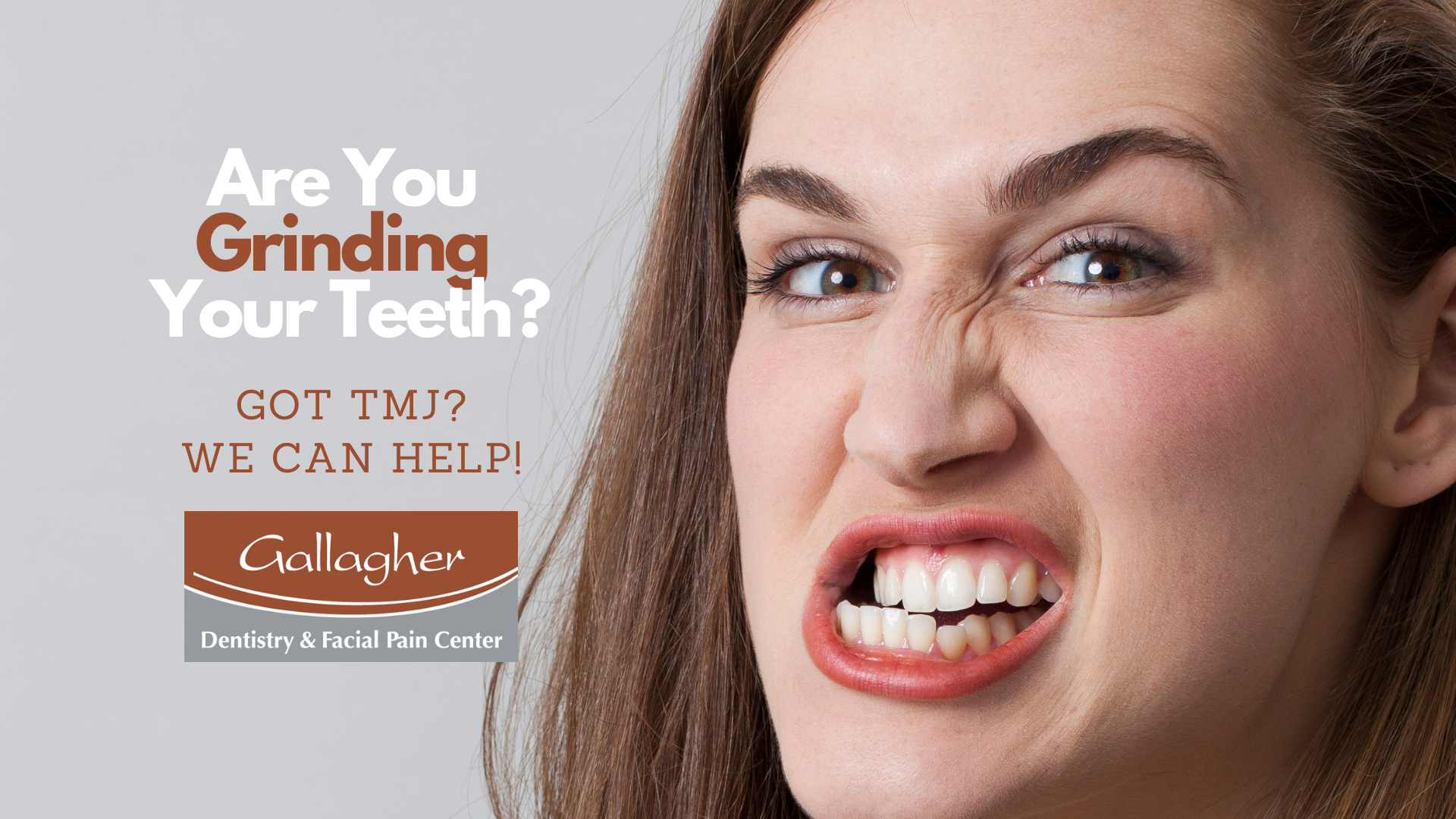Are You Grinding Your Teeth? Got TMJ?